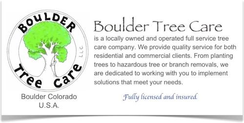 Boulder Tree Care - Tree Service for Boulder Colorado